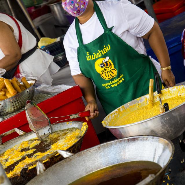 """Vegetarian street food"" stock image"