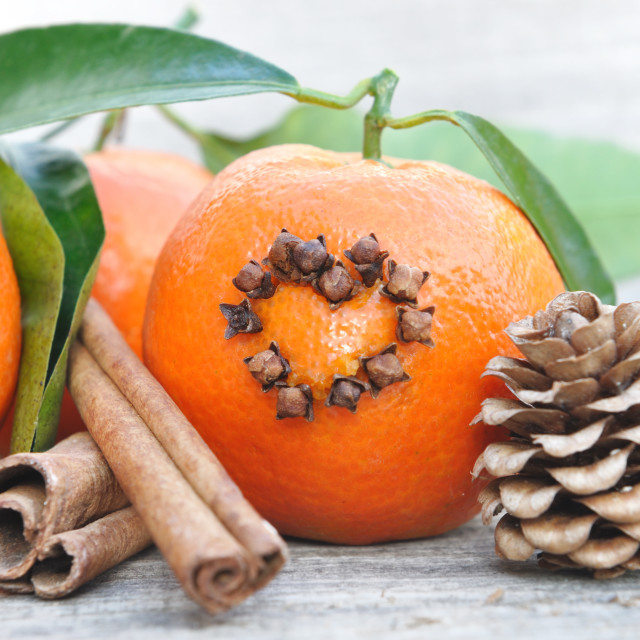 """""""tangerine and spices"""" stock image"""