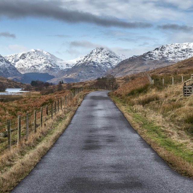 """Inversnaid in Scotland"" stock image"