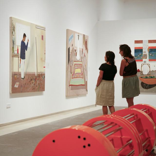 """""""Tel Aviv Museum of Art, Tel Aviv, Israel, Middle East"""" stock image"""