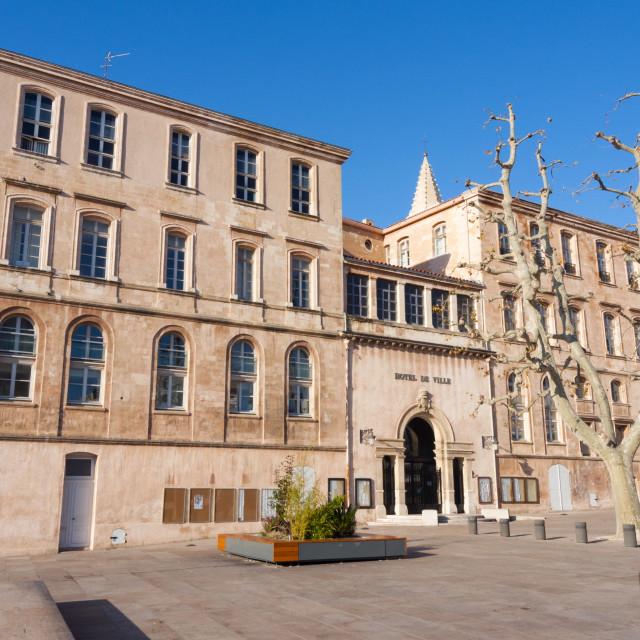 """""""Place Villeneuve Bargemon, Marseille, Bouches du Rhone,..."""" stock image"""