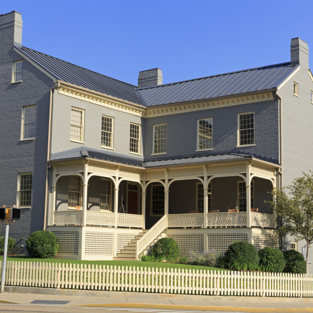 """Historic James Park House, Knoxville, Tennessee, United States of America,..."" stock image"