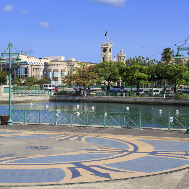 """""""Independence Square, Bridgetown, Barbados, West Indies, Caribbean, Central..."""" stock image"""