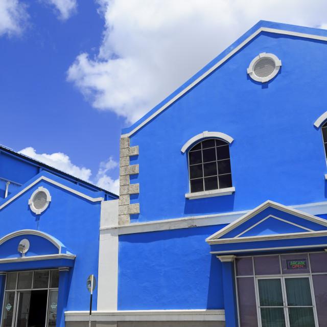 """Warehouse on Princess Alice Highway, Bridgetown, Barbados, West Indies,..."" stock image"