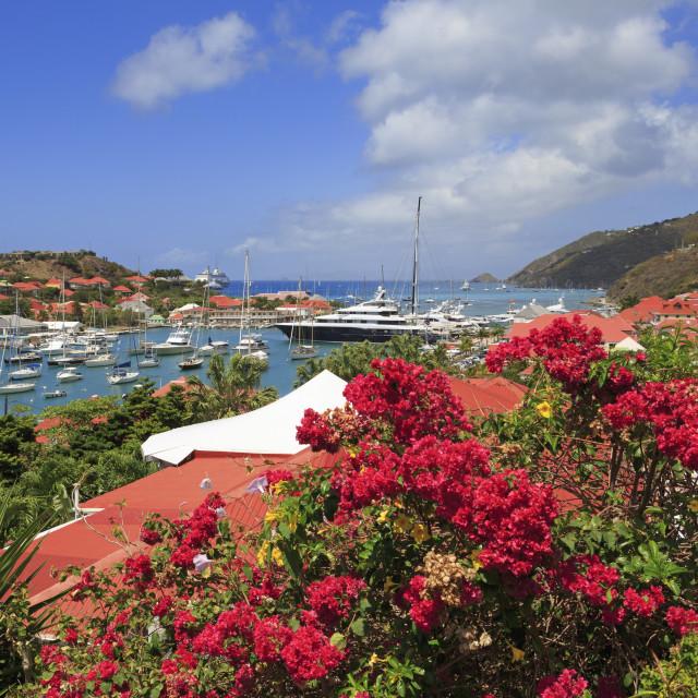 """Gustavia,Saint Barts,Caribbean"" stock image"