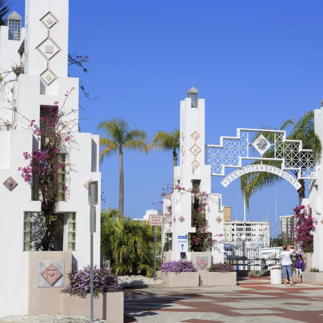 """Bayfront, Sarasota, Florida, United States of America, North America"" stock image"