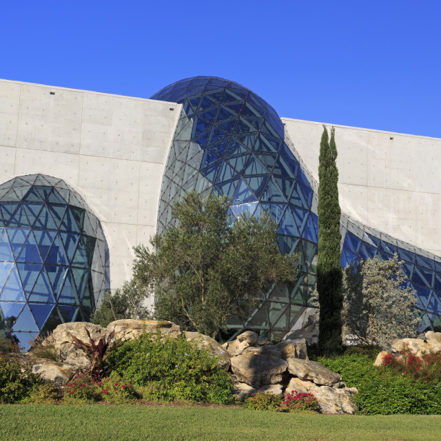 """Dali Museum, St. Petersburg, Tampa Region, Florida, United States of America,..."" stock image"