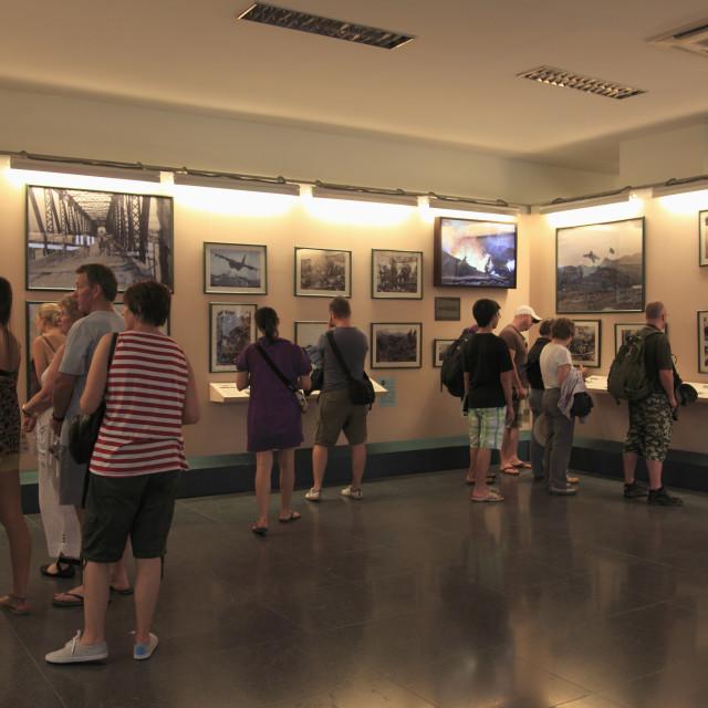 """Requiem Exhibit, War Remnants Museum, Ho Chi Minh City (Saigon), Vietnam,..."" stock image"