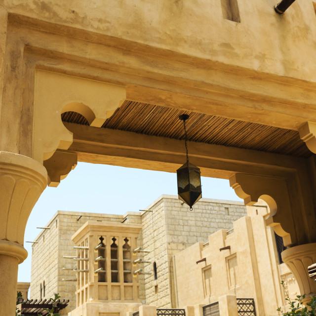 """""""Souk Madinat, Dubai, United Arab Emirates, Middle East"""" stock image"""