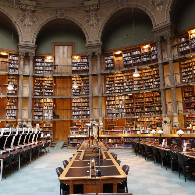"""""""The National Library of France, Paris, France, Europe"""" stock image"""