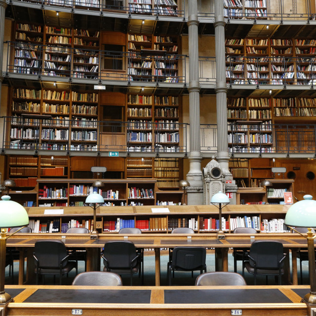 """The National Library of France, Paris, France, Europe"" stock image"