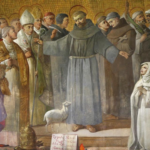 """""""Anthony of Padua, St. Anthony of Padua Church, Rome, Lazio, Italy, Europe"""" stock image"""
