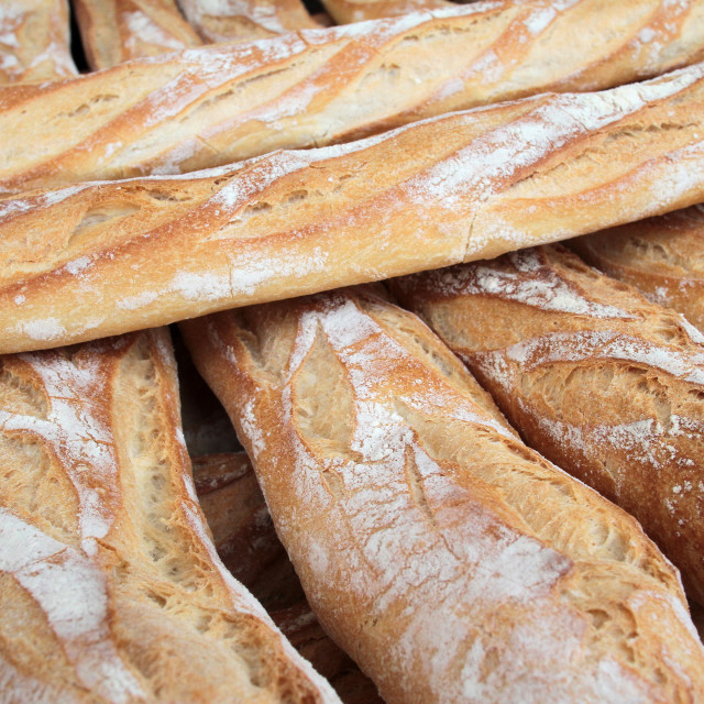 """French baguettes, Paris, France, Europe"" stock image"