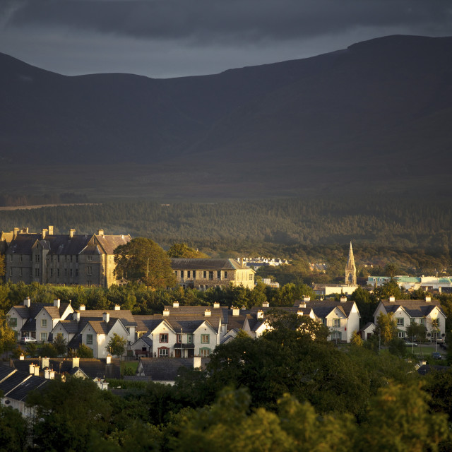 """City of Killarney, County Kerry, Munster, Republic of Ireland, Europe"" stock image"
