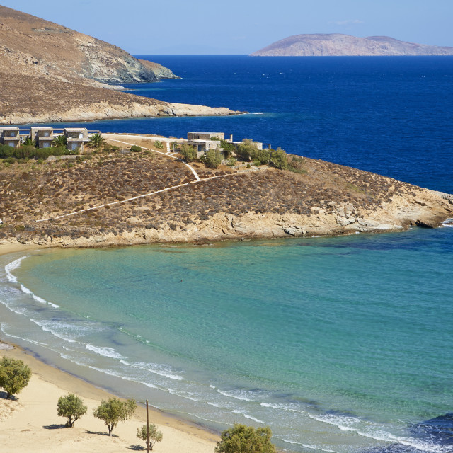 """Psili Ammos beach, Serifos Island, Cyclades, Greek Islands, Greece, Europe"" stock image"