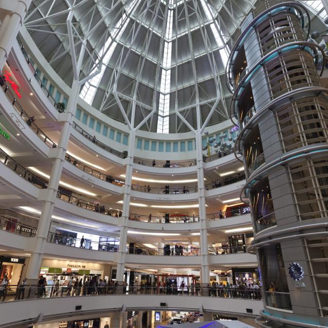 """""""Suria KLCC shopping mall next to the Petronas Towers, Kuala Lumpur, Malaysia,..."""" stock image"""