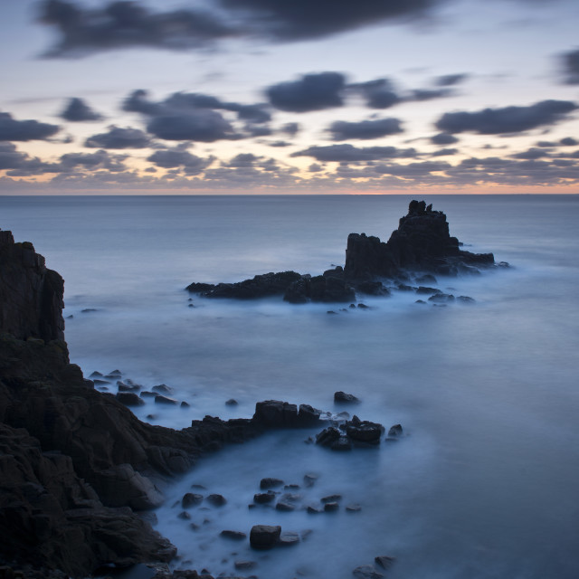 """Land's End, Cornwall, England, United Kingdom, Europe"" stock image"