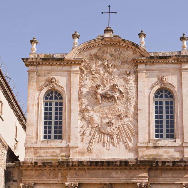 """""""Chapelle Des Penitents Noirs de la Misericorde in the city of Avignon,..."""" stock image"""