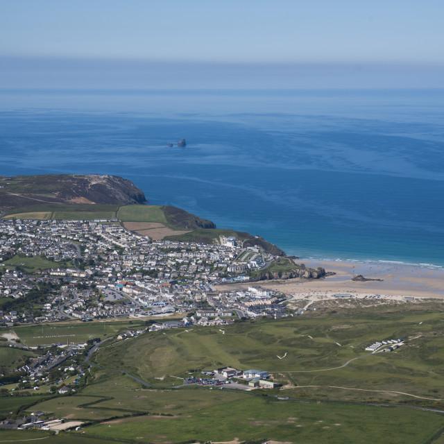 """Perranporth. Cornwall. UK"" stock image"