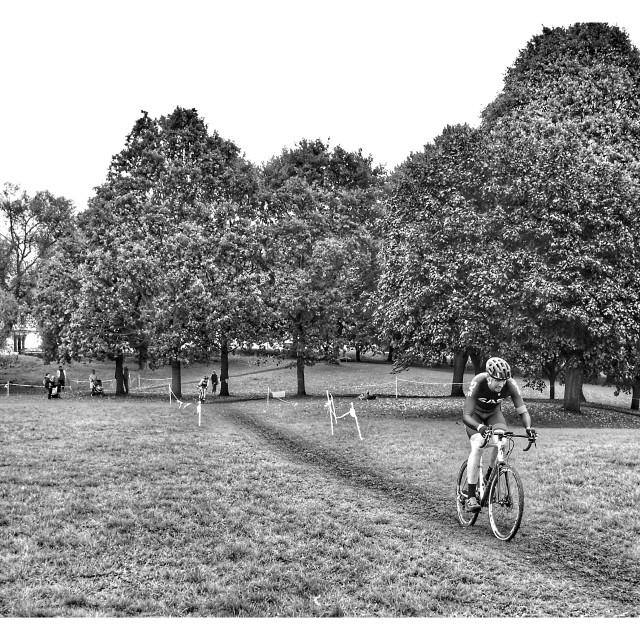 """Autumn Cyclocross"" stock image"