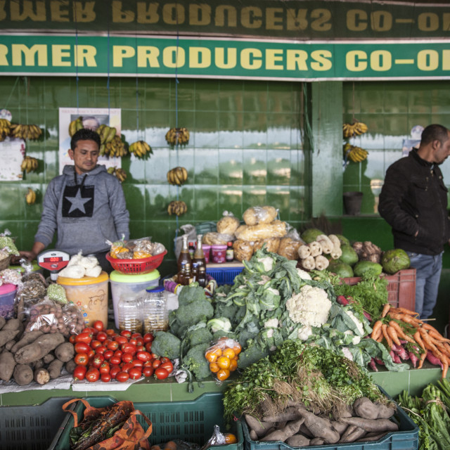 """Sikkim Organic Market. Gagtok, Sikkim, India."" stock image"
