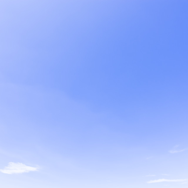 """blue sky - tiny and soft clouds"" stock image"