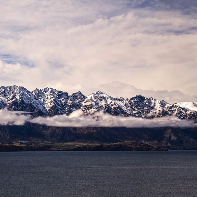 """The Remarkables Otago New Zealand"" stock image"