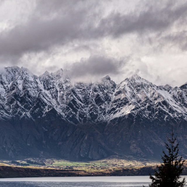 """""""The Remarkables Otago New Zealand"""" stock image"""