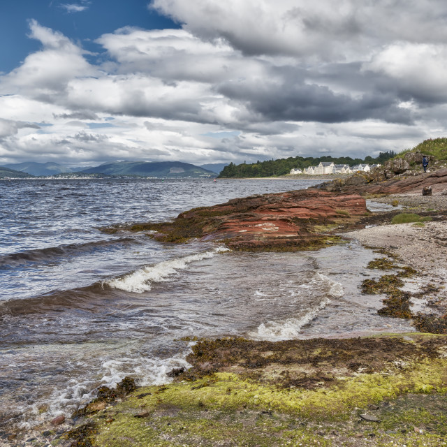 """Inverkip In Scotland"" stock image"