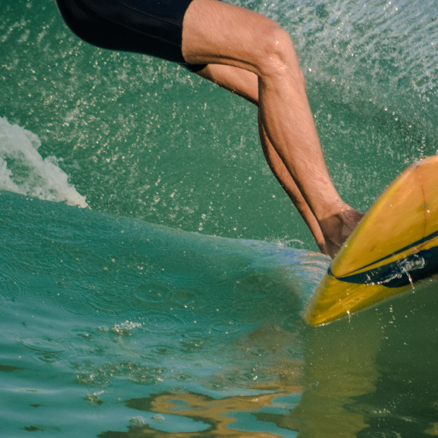 """Surfer's delight"" stock image"