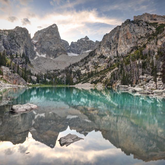 """Beautiful Delta Lake"" stock image"