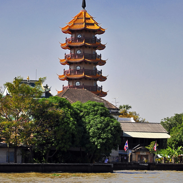 """Chee Chin Khor Grand Pagoda"" stock image"