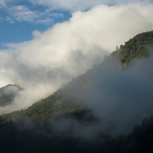 """Lhuentse Lhakang, Bhutan Bhutan"" stock image"