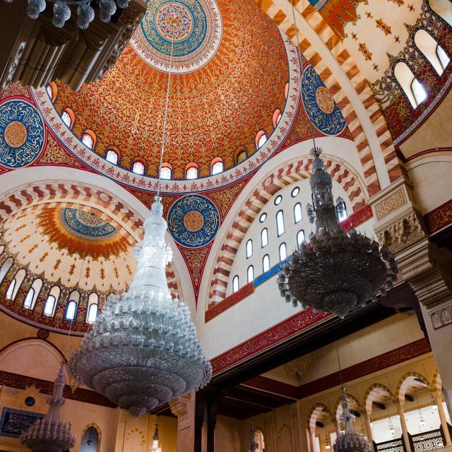 """Al Amine Mosque cupola"" stock image"