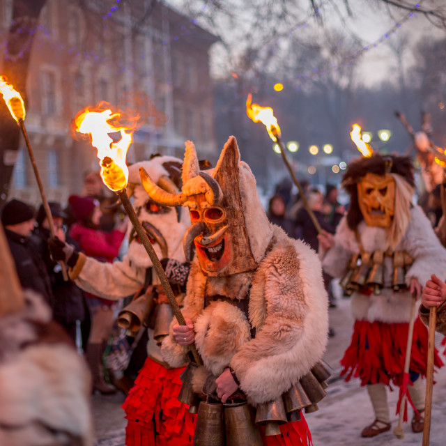 """""""Carrying that ritual fire while marching"""" stock image"""