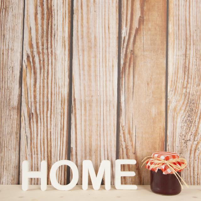 """Home made jam"" stock image"