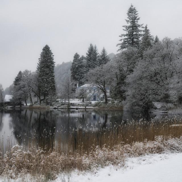 """Loch Ard"" stock image"