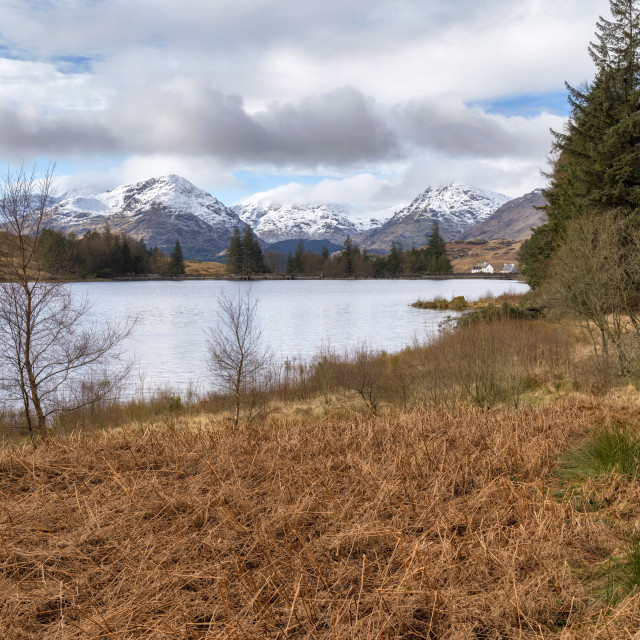 """Loch Arklet"" stock image"