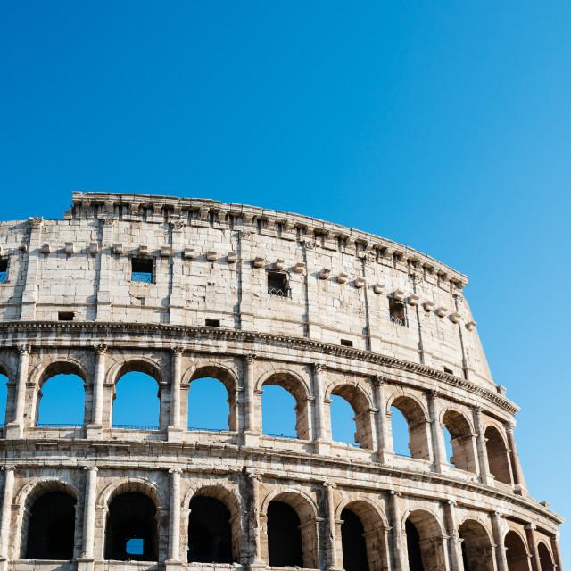 """Colosseum in Rome"" stock image"