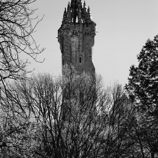 """""""William Wallace Monument"""" stock image"""