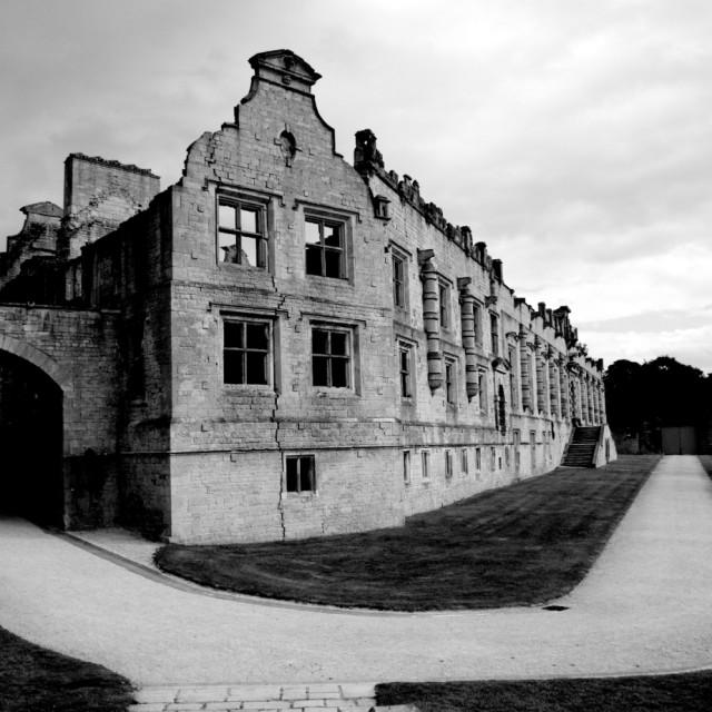 """""""Bolsover Castle Ruin"""" stock image"""