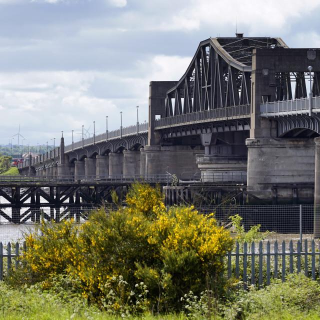 """""""Kincardine Bridge"""" stock image"""