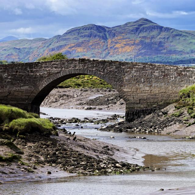 """""""Scotland Scenery"""" stock image"""