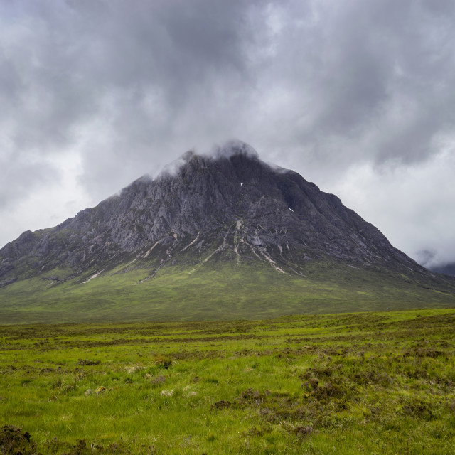 """""""Glencoe in Scotland"""" stock image"""