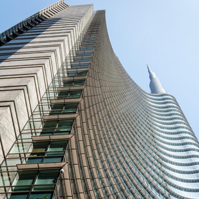 """Unicredit Tower"" stock image"