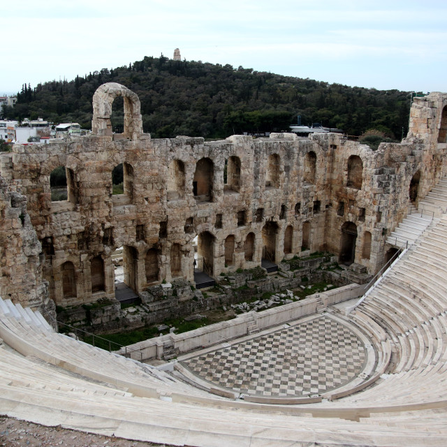 """""""Ancient theater"""" stock image"""
