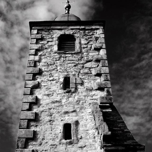 """""""Tolbooth of Clackmannan"""" stock image"""