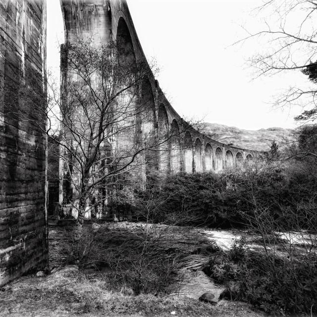 """Glenfinnan Viaduct"" stock image"
