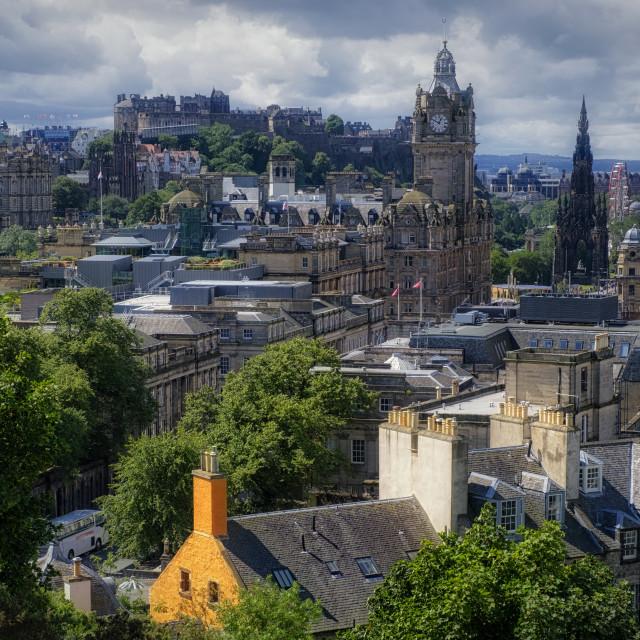"""Edinburgh City"" stock image"
