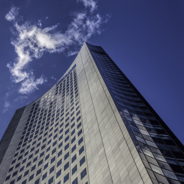 """Panorama Tower, Leipzig"" stock image"